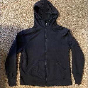 Champion black zippered hoodie size L